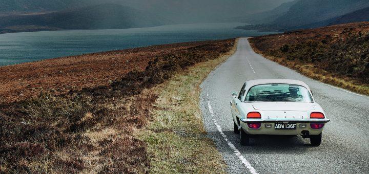 Mazda klassieker in Schotland