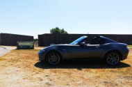 Mazda MX-5 bij Waternoodsmuseum
