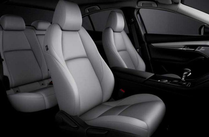 Comfortabele stoelen nieuwe Mazda3