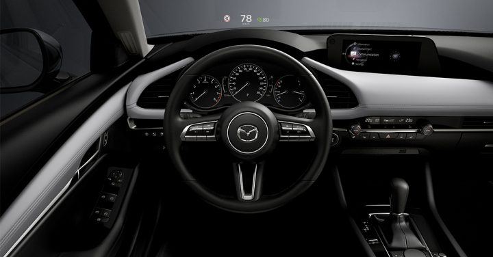 Cockpit nieuwe Mazda2