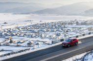 De Mazda CX-5 in de sneeuw