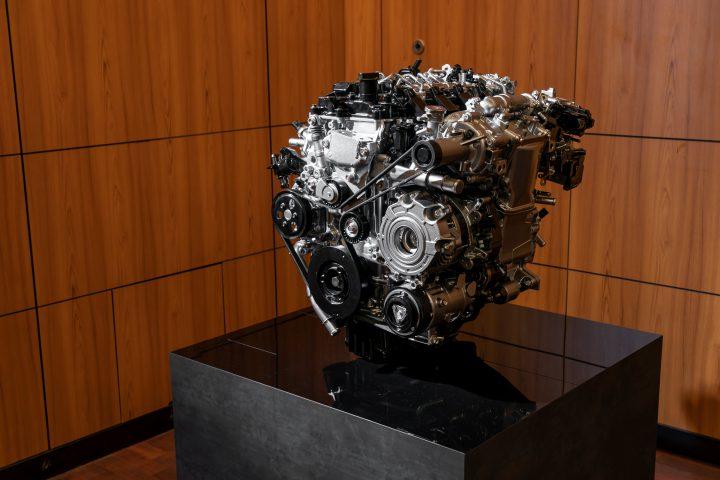 De Skyactiv-X motor van Mazda