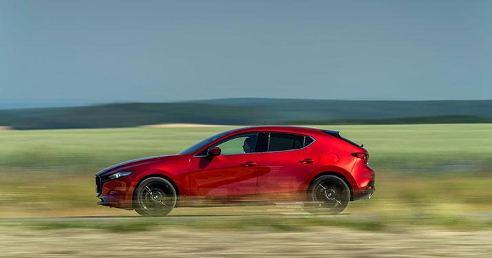 Skyactiv-X motor Mazda3