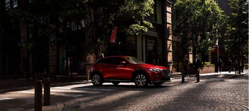 Crossovers van Mazda