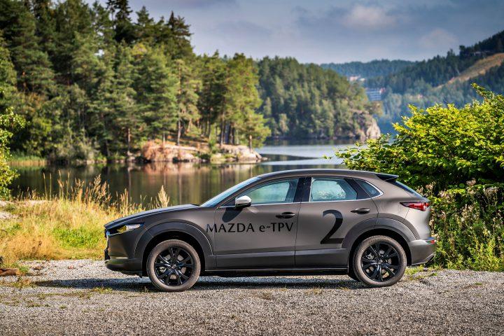 Mazda elektrisch prototype