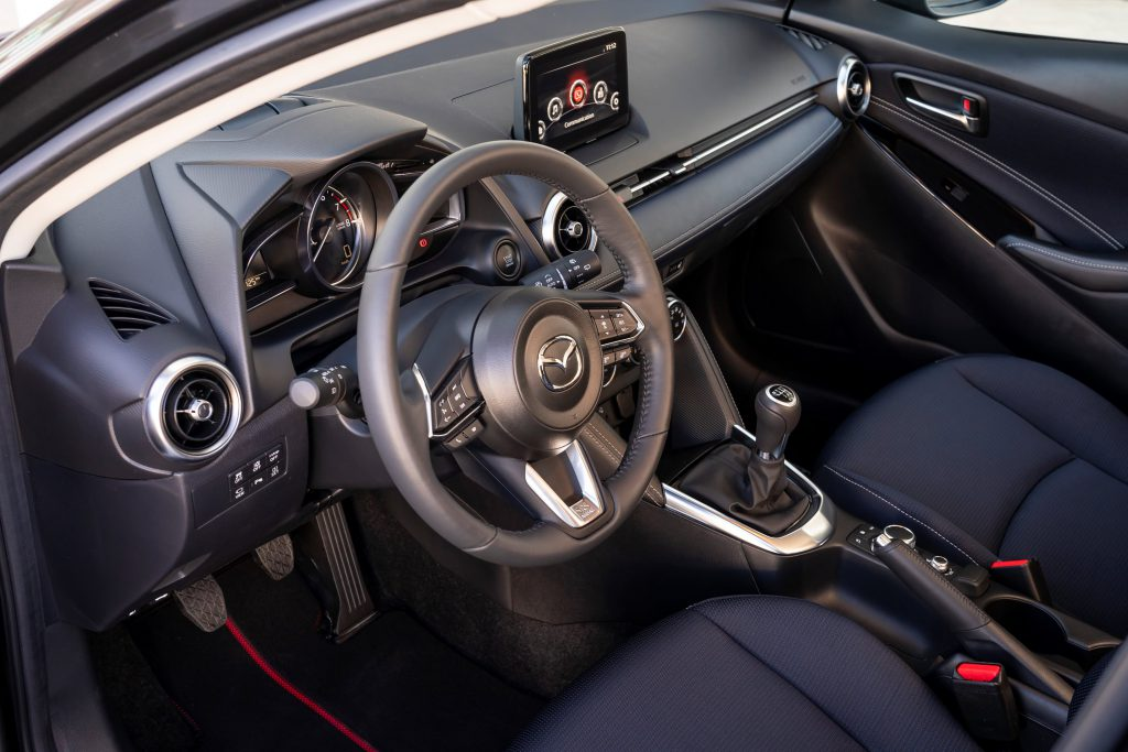 Interieur vernieuwde Mazda2