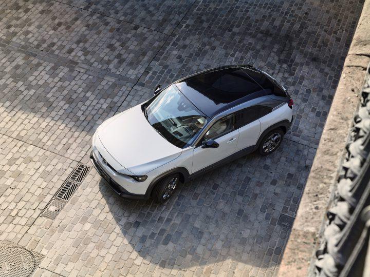 Mazda MX-30 in productie
