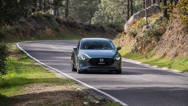 Mazda3 Polymetal Gray