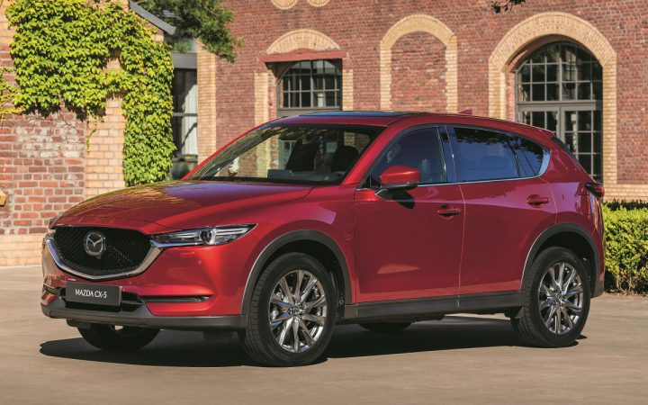 vernieuwde Mazda CX-5