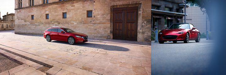 Mazda6 & MX-5 modeljaar 2021