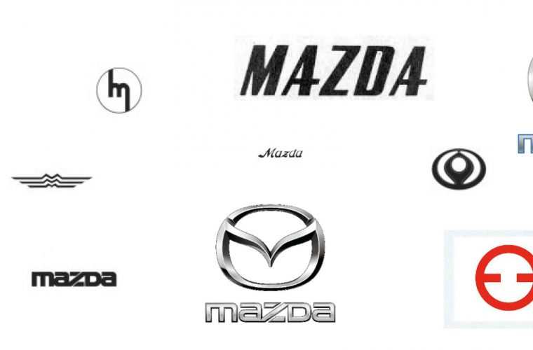 Mazda logo's